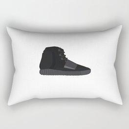 Yeezys 750 - Triple Black Rectangular Pillow