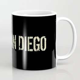 Black Flag: San Diego Coffee Mug