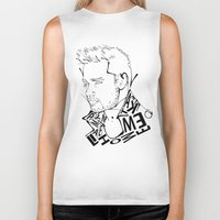 liam payne Biker Tanks featuring Typographic Liam by Ashley R. Guillory