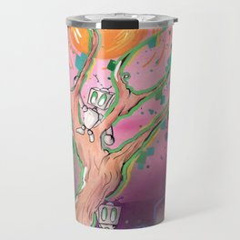 Digital Leaves Travel Mug