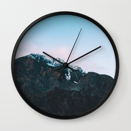 Dawn Mountain - Kenai Fjords National Park Wall Clock