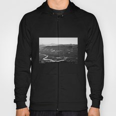 River in the Mountains B&W Hoody