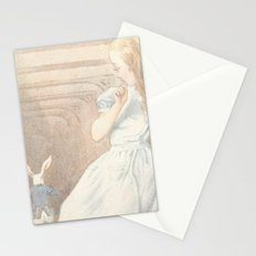 Vintage Alice in Wonderland Stationery Cards