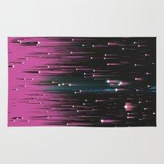 Pink Meteors Rug
