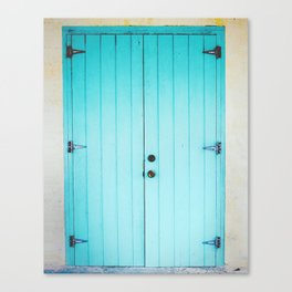 Door Number 1 Canvas Print