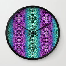 Meditative Garden Wall Clock