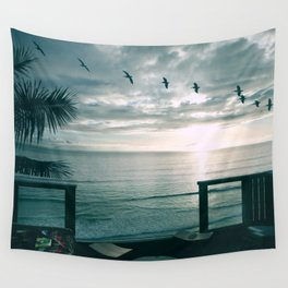 A Room With a View Wall Tapestry