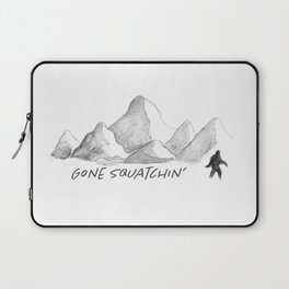 Gone Squatchin' Laptop Sleeve