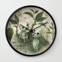 Natural Histories - Forest Spirit studies Wall Clock