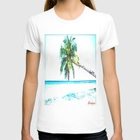 cuba T-shirts featuring Cuba , Playa  ( Cuba , beach ) by arnedayan