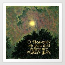 HEAVENLY ORB Art Print