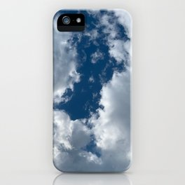 Bright sky before the storm iPhone Case