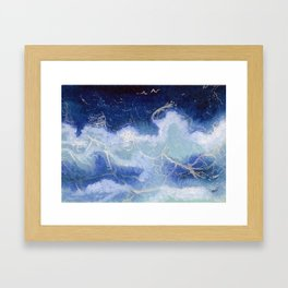 Wash it all Away Framed Art Print