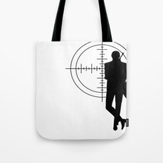 Double Oh Target... Tote Bag