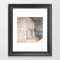Elk Abstraction Framed Art Print