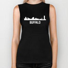 Buffalo New York Skyline Cityscape Biker Tank