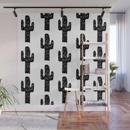 Cacti Wall Mural