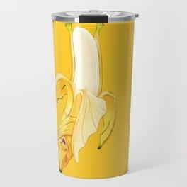 Bb - Batata // Half Bat, Half Banana Travel Mug