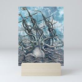Sea Monster Mini Art Print