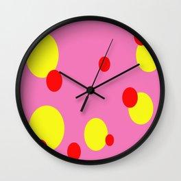 Pokey Dots Wall Clock