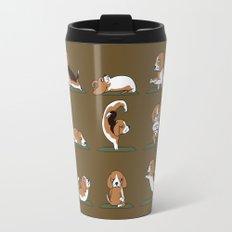 Beagle Yoga Travel Mug