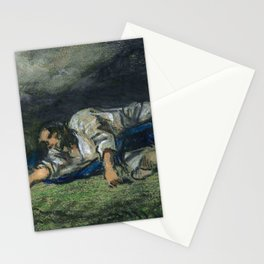 """Eugène Delacroix """"The Agony in the garden"""" Stationery Cards"""