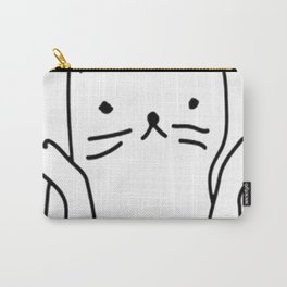 OOPS I DON'T CARE CAT Carry-All Pouch