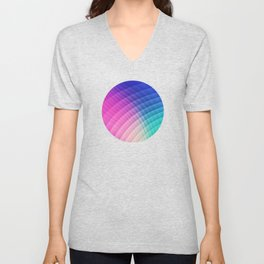Abstract Colorful Art Pattern (LTBG - Low poly) - Texture aka. Spectrum Bomb! (Photoshop Colorpicker Unisex V-Neck