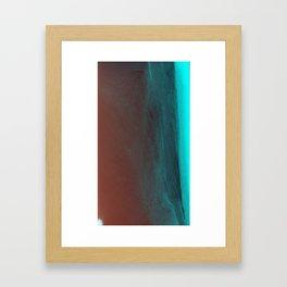 Depth Peace Framed Art Print