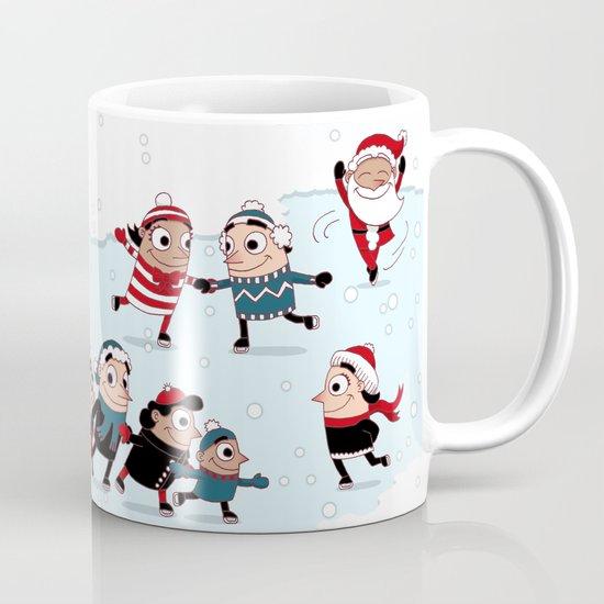 Christmas Skating Coffee Mug