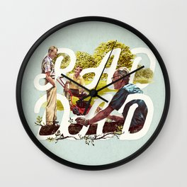 Rad Dad II Wall Clock