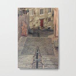 Alfama, Lisbon. Metal Print