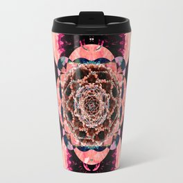 Eye of the Flower Travel Mug