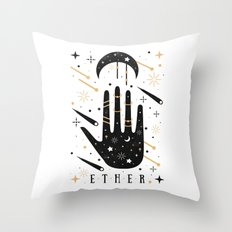 Ether  Throw Pillow