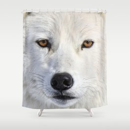Up close and personal Shower Curtain