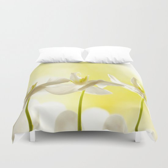 Three Ballerinas Duvet Cover