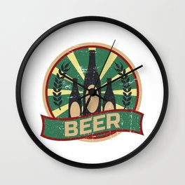 Beer Propaganda | Brew Brewery Brewer Wall Clock