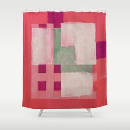 Urban Intersections 3 Shower Curtain