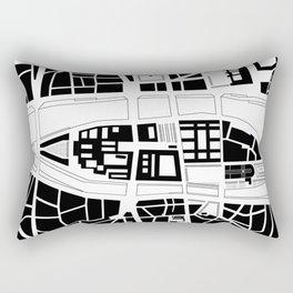 Île de la Cité. Paris Rectangular Pillow