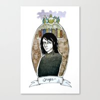 snape Canvas Prints featuring snape by hille
