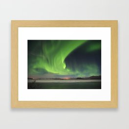 Halloween Aurora Framed Art Print
