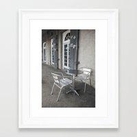 cafe Framed Art Prints featuring Cafe by David Turner