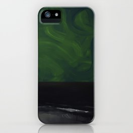 Untitled (Black Sea) iPhone Case
