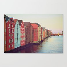 Trondheim, Norway Canvas Print
