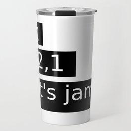 Let's Jam! Travel Mug