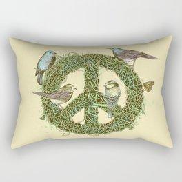 Peace Talks Rectangular Pillow