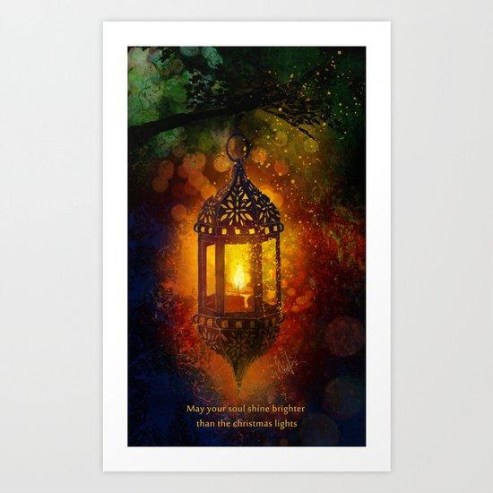 All is bright Art Print