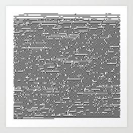 #A01 Art Print
