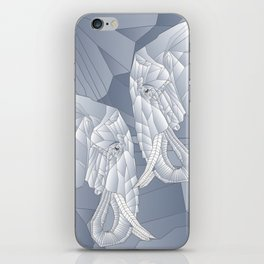 Stone Elephant iPhone Skin