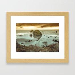 California Ocean West Coast Framed Art Print